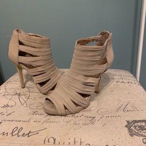 Bcbg nude heels size 7